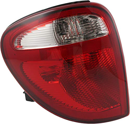 JP Auto Outer Tail Light Compatible With Chrysler Town & Country Dodge Caravan Grand Caravan 2004 2005 2006 2007 Driver Left Side Taillamp