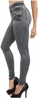 Pantalones yoga Vaqueros for mujeres Vaqueros de mamá Vaqueros de cintura alta Mujer Vaqueros elásticos de talla grande de...