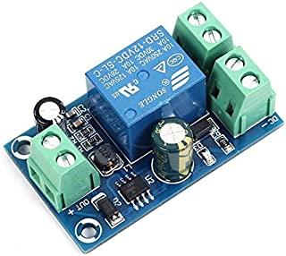 Power-Off Protection Module, 12V - 48V Control Board Power Supply Control Board Automatic Controller Module UPS Emergency Cut-Off Battery Power Supply