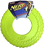 Nerf Dog TPR Flyer, 10-Inch (Great Toy for Your Favorite Pooch) (Neon Yellow)