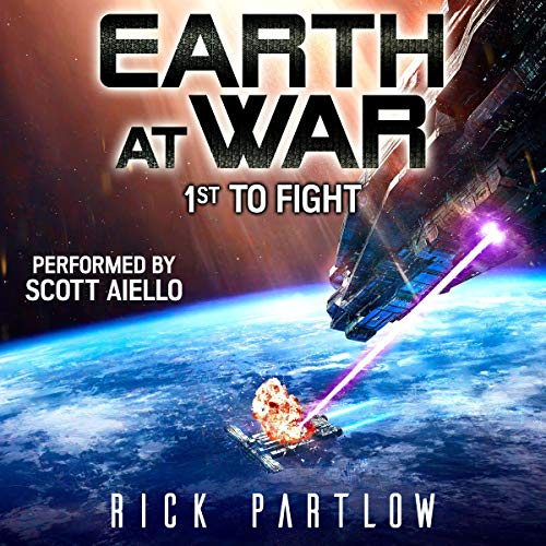 Couverture de 1st to Fight: Earth at War