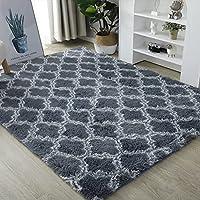 QIANJINGCQ スタイル絞り染めカーペット、リビングルームコーヒーテーブルマット、ベッドルームフロアマット、フルベッドブランケット