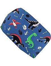 Wollhuhn Cinta elástica para el pelo con diseño de dinosaurio y dinosaurio, color azul 20204111