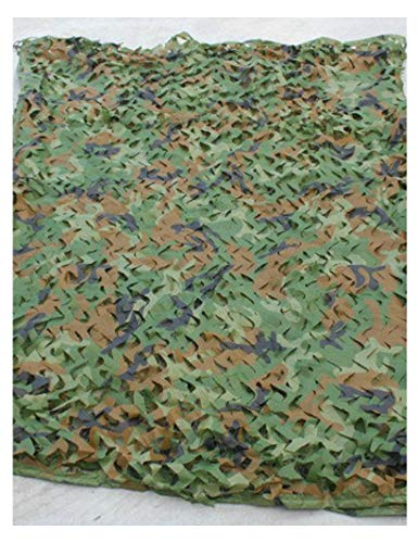 Lyy Home 3D Militär Jagd Camo Tarnnetz Sonnenschutz Kinder 2Mx3M Tarnungnetz Tarnungnetz, Waldjagd Schießen Versteckten Regenschirm, Lager Schutz (Size : 4m×8m)