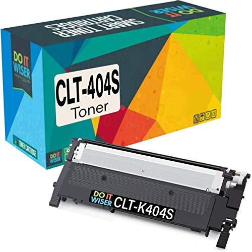 Cartuccia toner Do it wiser compatibile in sostituzione di Samsung Xpress C480FW, C430W, C480W, C480FN, C480, C430, C432, C432W, C433W, C433, C482, CLT-K404S (Nero, Singolo)