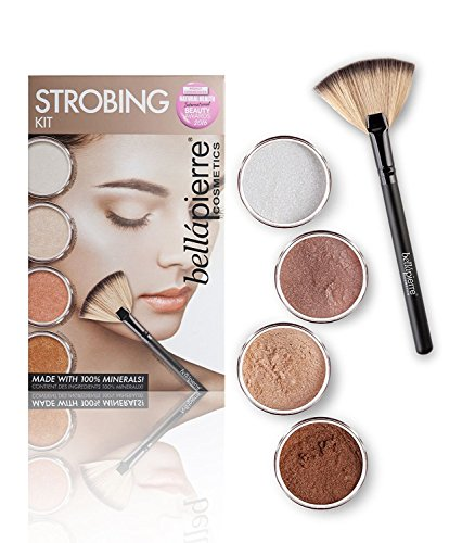 Bellápierre Cosmetics Make-up Sets Strobing Kit Loose Powder Illuminator Lustre 2 g + Loose Powder Illuminator Toast 2 g + Loose Powder Illuminator Ro