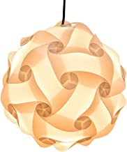 XIHOME IQ PP Lamp Shade Kit 30 Pieces Toy Self DIY Easy Assembled Puzzle Lights for Room..