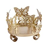 SUPERFINDINGS 1PC Iron Butterfly Candle Holder...