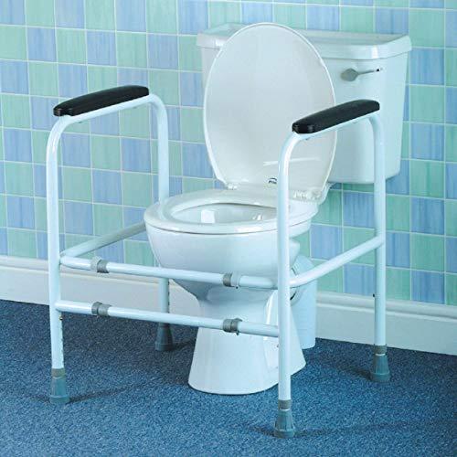 Homecraft WC-Aufstehhilfe aus Aluminium, verstellbar, 625-788mm