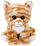 TY- Beanie Babies Cleo, gato, Color marrón, 15 cm (United Labels Ibérica 42305TY) , color/modelo surtido