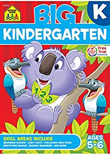 Big Kindergarten Workbook (Big Workbook)