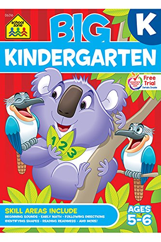 Big Kindergarten Workbook (Big Get Ready Workbook)