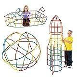 Millya - Juego de 400 Piezas de plástico Creativo y Educativo, para...