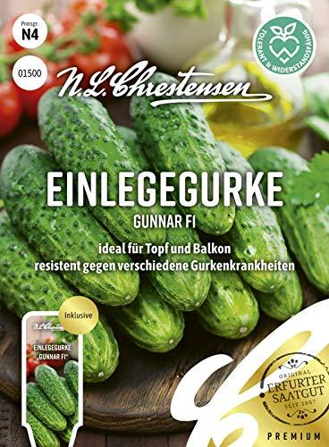 Einlegegurke Gunnar F1 N.L.Chrestensen Samen 1500