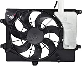 labwork Radiator AC Condenser Cooling Fan Assembly fit for 2011-2013 Elantra 14 Forte 253803X100 HY3115133