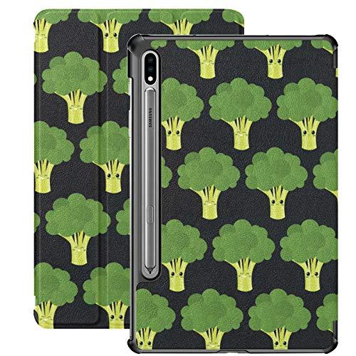 Little Green Broccoli Pretty Health Galaxy Tab S7 Cover For Samsung Galaxy Tab S7/s7 Plus Samsung Galaxy S7 Plus Case Stand Back Cover Galaxy S7 Case For Galaxy Tab S7 11 Inch S7 Plus 12.4 Inch