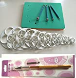 17 SET Foam Pad Veiner Modellierpad Rosen Ausstecher Ball Tools