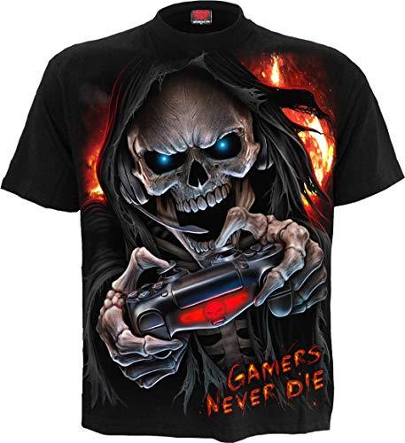 Spiral Respawn Männer T-Shirt schwarz XXL