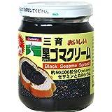 三育フーズ 黒ゴマクリーム 190g×3個