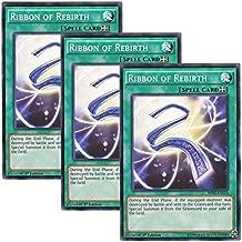 Yu-Gi-Oh! 3 Sheets English Version BP 03 - EN 153 Ribbon of Rebirth Reborn Ribbon (Normal) 1st Edition