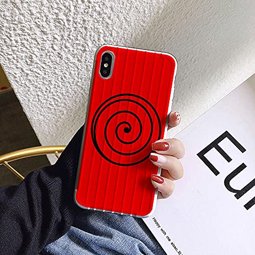 Anime Naruto 3D Soft Phone Case para iPhone 7 8 Plus X XR XS MAX 11 12 Pro MAX Mini SE 2020 Cartoon Cover-l_iPhone_12_Pro_MAX