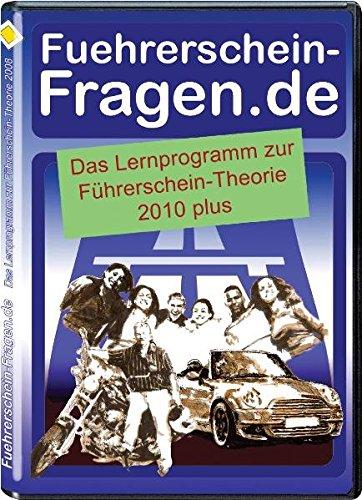 Führerschein-Fragen.de 2010: Das Lernprogramm zur Führerschein-Theorie: Das Lernprogramm zur Führerscheinfragen-Theorie. Lernprogramm auf CD-Rom für ME, 2000, XP, Vista und Windows 7
