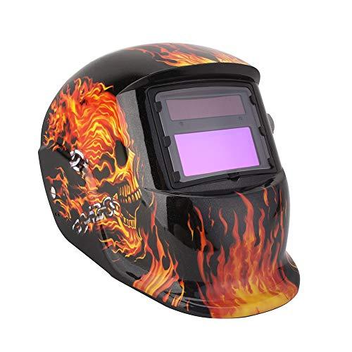 Cocoarm Schweißhelm Automatik Schweißhelm mit Uv-Schutz DIN 9-13 freie Einstellung Schweißmaske Schweißschirm Solar Schweißschild Schutzhelm gegen Funken, Strahlungen