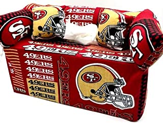 49ers San Francisco Fan Gift Idea Tissue Holder Couch
