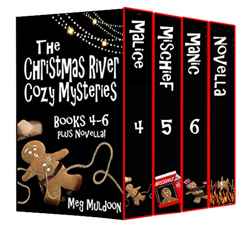 The Christmas River Cozy Mysteries Box Set: Books 4-6