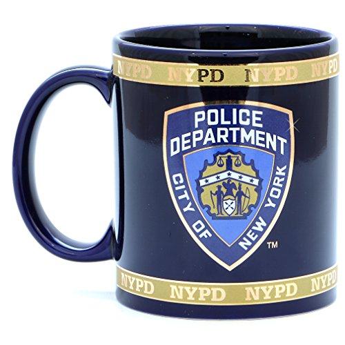 NYPD taza de café con licencia oficial de la policía de Nueva York departamento
