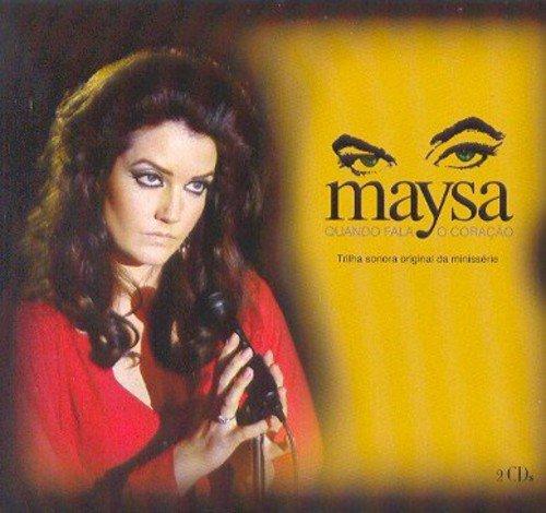 CD DUPLO MAYSA - QUANDO FALA O CORAÇÃO - COM LUVA