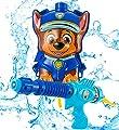 PAW PATROL Pistola de Agua, Patrulla Canina Juguetes para Niños con Personaje Chase, Pistolas de Agua con Mochila Incorporada para Jardin Piscina, Juegos para Niños y Niñas Edad 3+ por F&F Stores