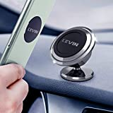 Universal Magnetic Phone Car Mount - LEVIN 360°Rotation Magnetic Cell Phone Holder for Car GPS...