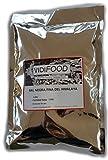 Sel Noir de l'Himalaya - 1 kg - Riche en Nutriments et Minéraux - 100% Naturel et Sans Toxines - Alternative Parfaite avec Peu de Sodium par Rapport au Sel Commun - Goût Incroyable - Ami de Vegans