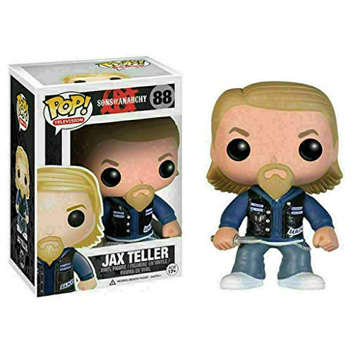Funko Pop Television : Sons of Anarchy - Jax Teller 3.75inch Vinyl Gift for TV Fans SuperCollection