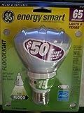 GE Lighting 47478 Energy Smart CFL 15-Watt 750-Lumen R30 Floodlight Bulb with Medium Base, 1-Pack