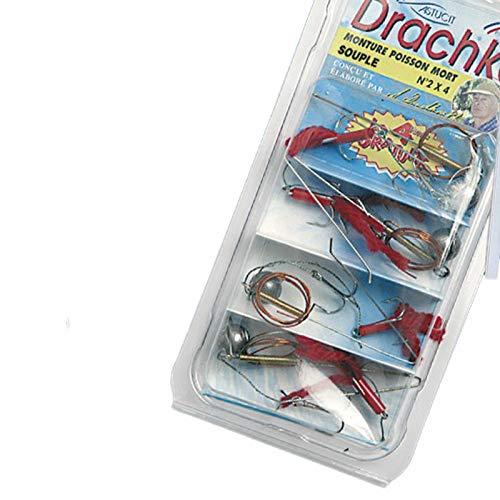Drachkovitch Angeln Ködersystem - System Supple 2 Gr. 1-4 Stück Set