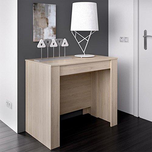 LIQUIDATODO  - Mesa consola extensible moderna y barata de 51 cm a 239 cm en color...