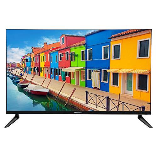 MEDION E13211 80 cm (31,5 Zoll) HD Fernseher (HD Triple Tuner, DVB-T2 HD, CI+, Mediaplayer, 3 x HDMI, SCART, VGA, USB)
