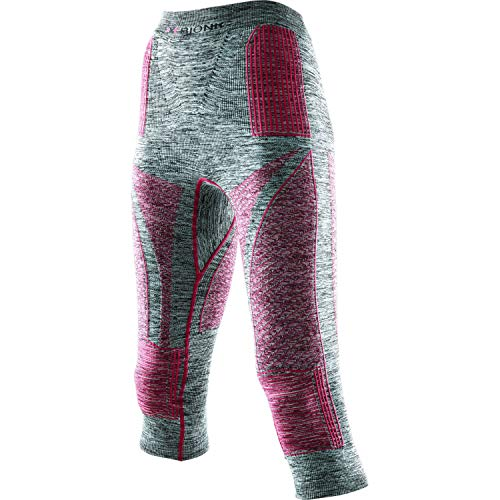 X-BIONIC I100671 sous-Pantalons de Sport Femme Light Grey Mel/Raspb FR : XS (Taille Fabricant : XS)