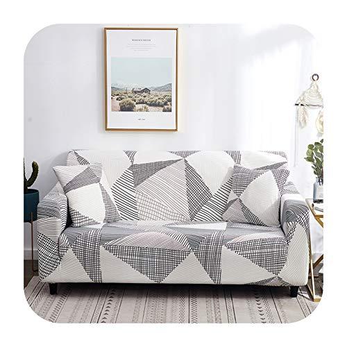 ZaHome Funda de sofá elástica para sofá, funda de sofá para sala de estar, sofá o silla, funda de sofá de esquina, funda de sofá de 7 – 4 plazas (235 – 300 cm)