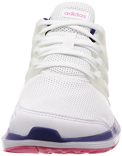 adidas Galaxy 4 W, Zapatillas de Running Mujer, Blanco (FTWR White/FTWR White/Real Purple S18), 36 EU