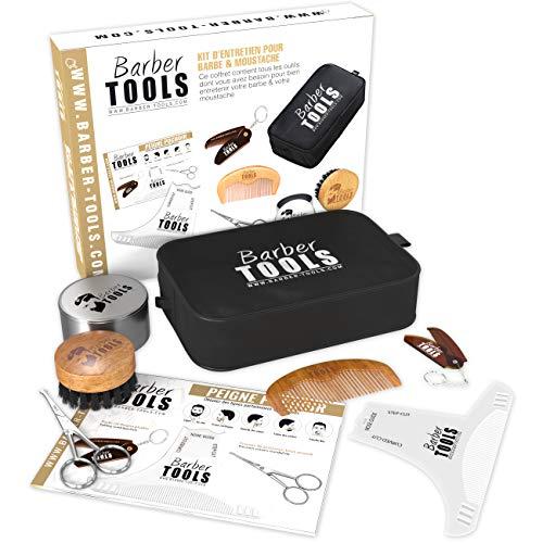 ✮ BARBER TOOLS ✮ Kit/Set/Estuche de arreglo y cuidado de la barba