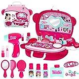 YEES Casita de juguete para niñas, juguete para niños, cosmética, maletín de simulación de princesa, maquillaje Toy Generous