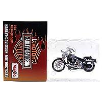 【6】 ザッカPAP 1/24 ハーレーダビットソン モーターサイクル PART.3 FXSTSスプリンガー ソフイテル ビビッドブラック 2001 単品