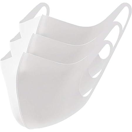 SHINPUR 冷感マスク 洗える 夏用 接触冷感 カラー スポーツ 大人用 立体 快適 (S M L サイズ)