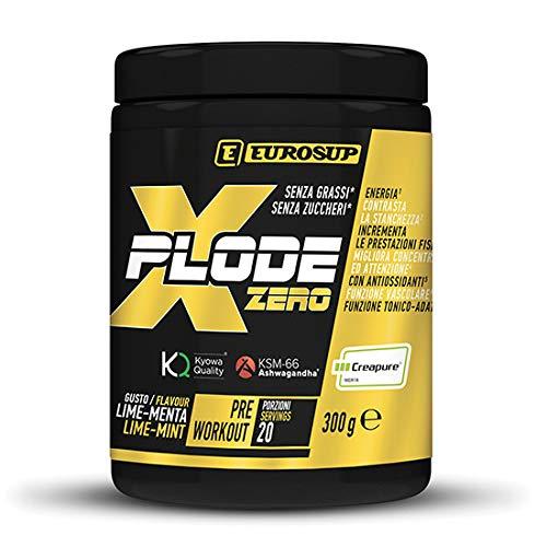 Eurosup XPLODE ZERO Kyowa Quality - Ksm - Creapure 300 gr lime-menta - 300 g