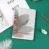 おしゃれな新しい ipad pro 11 2018 ケース スリムフィット シンプル 高級品質 手帳型 スエード柔らかな内側 スタンド機能 保護ケース オートスリープ ナマケモノ瞑想ロータスフラワーヨガアーサナはやる気を起こさせる楽しい