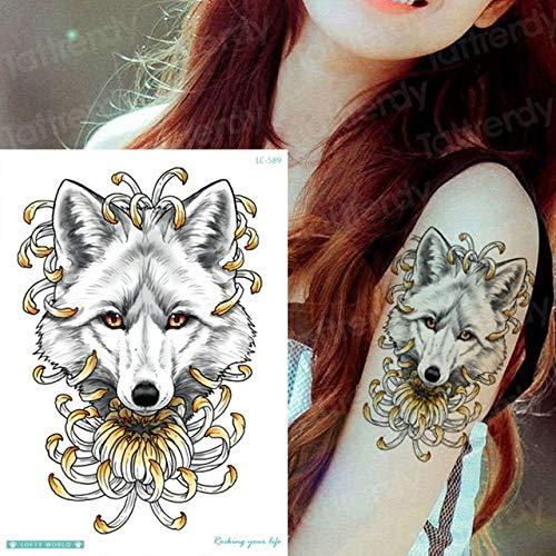 adgkitb 3 Piezas Tatuaje Temporal Brazo Mangas Cuerpo