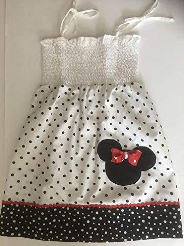 New Handmade Girls Disney Minnie Mouse summer Dress size 3T